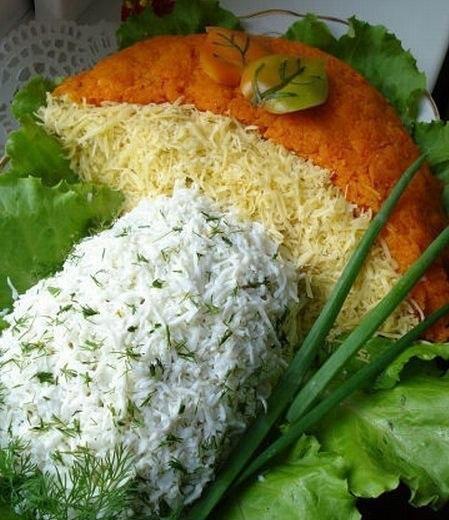 вкусный салат на праздничный стол