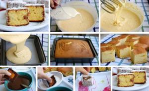 Нежное пирожное, тающее во рту фото