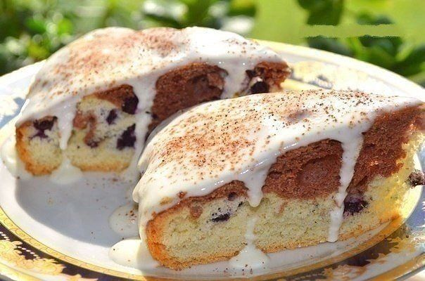 Простой домашний тортик