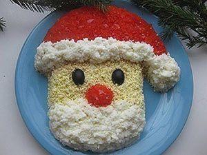 "Салат ""Дед Мороз"" фото"