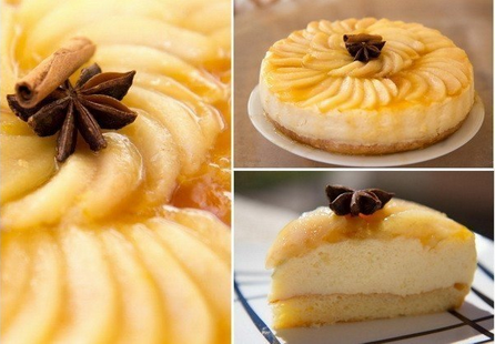 Торт Грушево-карамельный