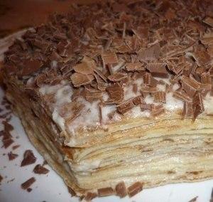 Нежнейший блинный тортик фото