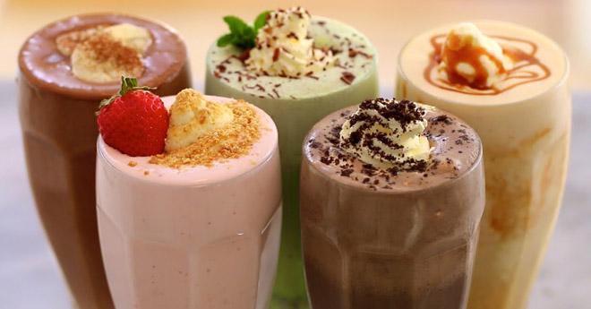 5 самых классных молочных коктейлей. Полезно и ооочень вкусно.