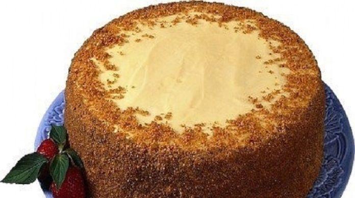 Минут 10 уйдет на приготовление теста и минут 10 на приготовление крема Быстрый шоколадный торт на кефире «Ням-ням»