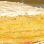 Лимонный торт. Когда я впервые этот тортик испекла, то поняла, что это любовь с первого взгляда.