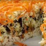 Праздничный салат «Морковкин блюз». Шикарно смотрится на столе. Звезда застолья. Салат номер один в нашей семье.