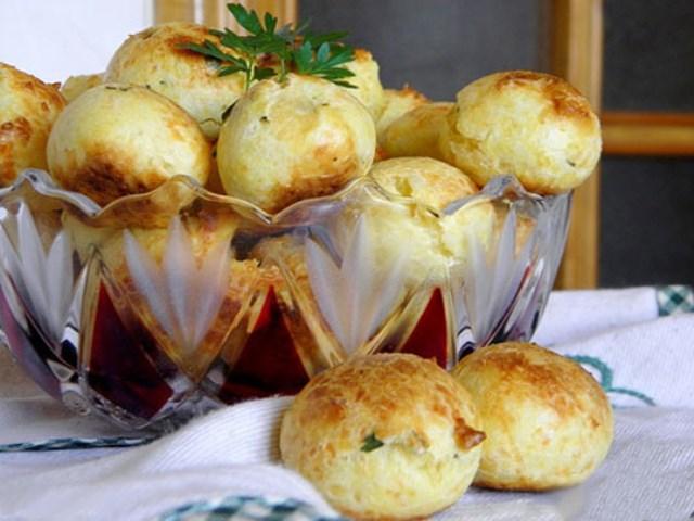 Французские булочки «Гужеро». Муж ВСЕГДА просит двойную порцию. Обалденно получается.