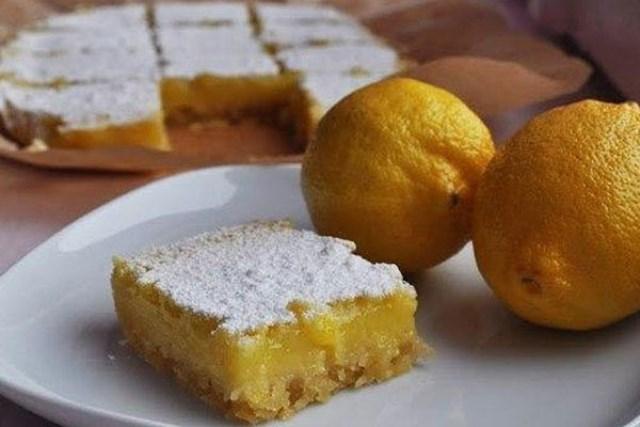 Лимонные пирожные - язык можно проглотить!
