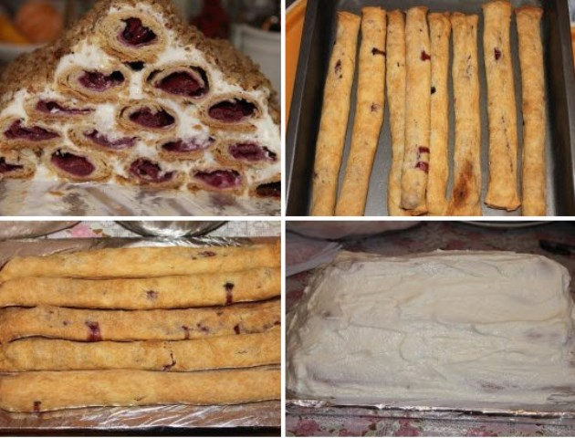 Торт «Монастырская изба» — нежный, просто тает во рту, обошел ВСЕ блюда на праздничном столе. Изюминка стола.