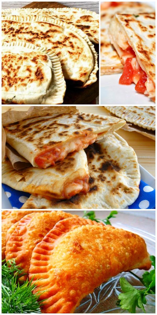 Чебуреки со вкусом пиццы! Рецепт бомба. Сколько не делай- все мало. Это очень вкусно!