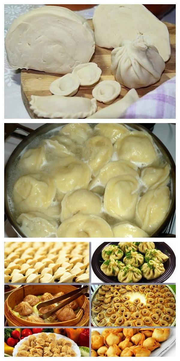 Идеальный рецепт теста на пельмени и вареники. И кухня чистая, и тесто супер