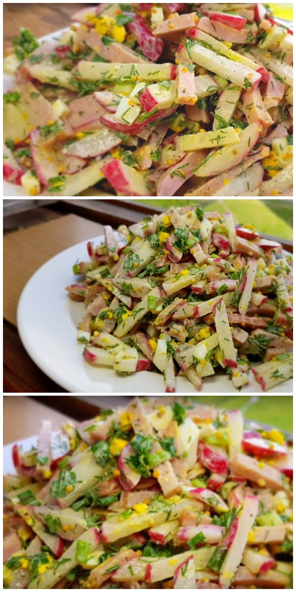 Обалденный салат «Пятиминутка»