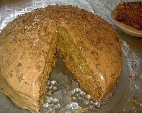 Очень простой и в тоже время вкусный домашний Торт а-ля Трухлявый пень