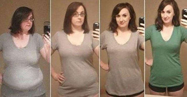 Женщина потеряла 40 кг за один год. Делая эти простые изменения!