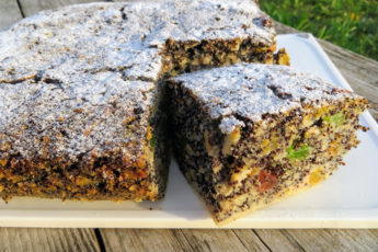 Божествено вкусный пирог без муки с маком и яблоками - бомба