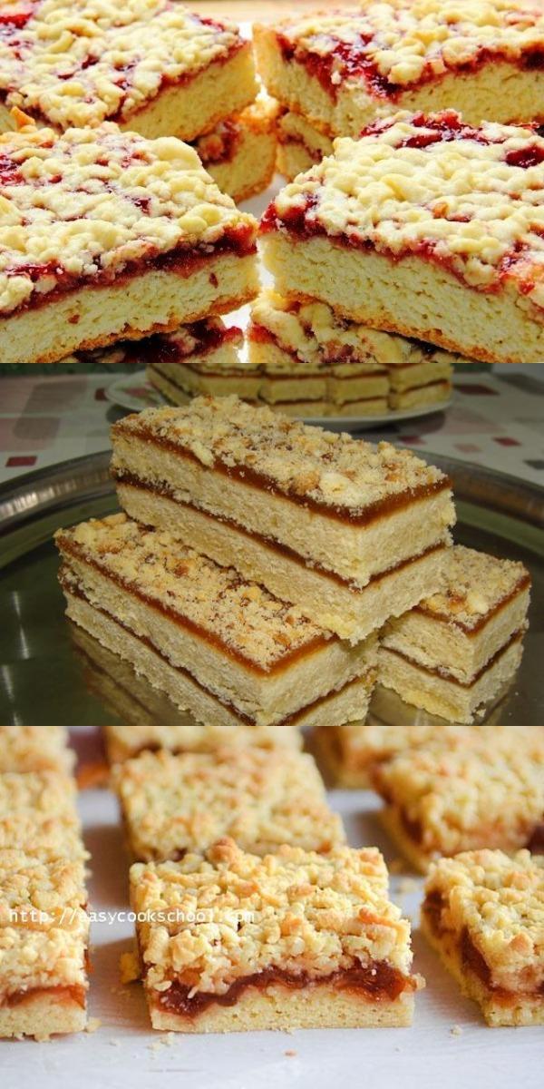 Пирог с тремя видами варенья, который пекла еще моя бабушка. Чрезвычайно вкусная и ароматная выпечка.