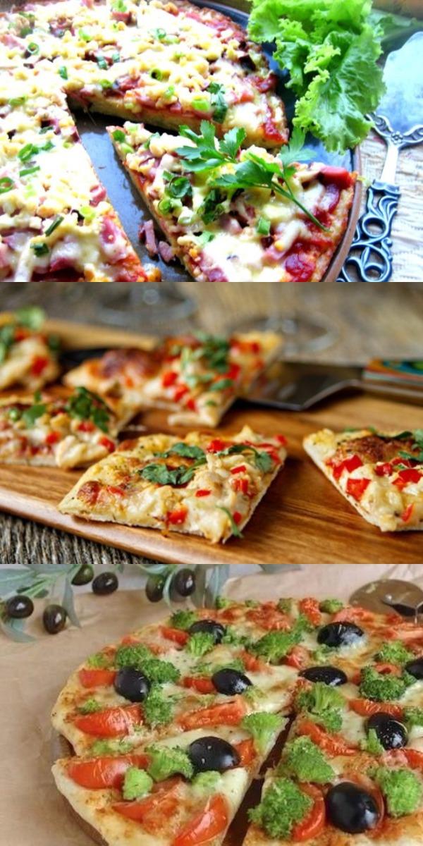 Восхитительный вкус, нежнейшее мясо, а какой аромат! Обалденная пицца без муки из пицерии никак не идет в сравнение.