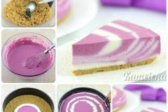 Очень простой легкий творожный торт за 15 минут. И никакой выпечки!