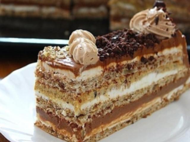Хорватский торт! Своим вкусом покорит сердца Ваших гостей! Все будут просить этот рецептик!
