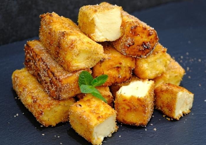 Жареное молоко Leche Frita - испанский десерт