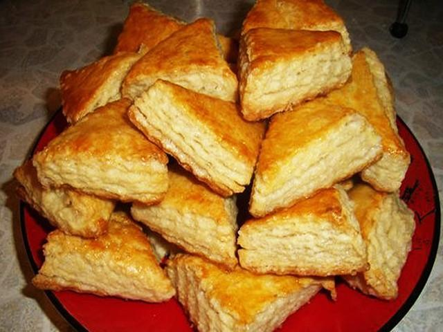 Царь выпечки! Минутный рецепт! Печенье на кефире, от которого гостей не оттянуть!