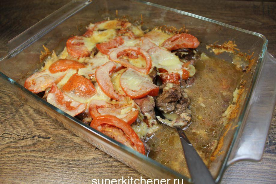 Сочная и очень нежная запеканка! Любимый рецепт приготовления куриной печени!