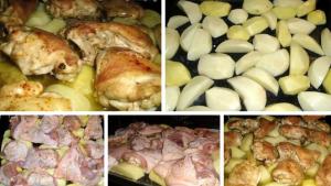 Куриные бедрышки в духовке фото