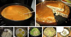 Супер нежный пирог с капустой и мясом фото
