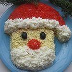 "Салат ""Дед Мороз"""