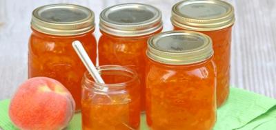 Ароматное варенье из персиков