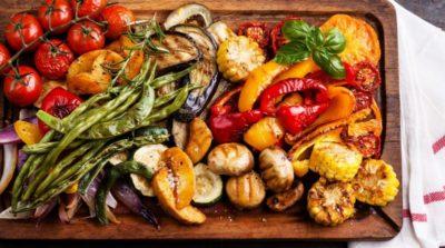 Как приготовить овощи гриль