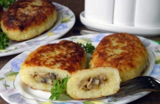 Картофельные зразы — супер вкусное блюдо. Очень советую приготовить.