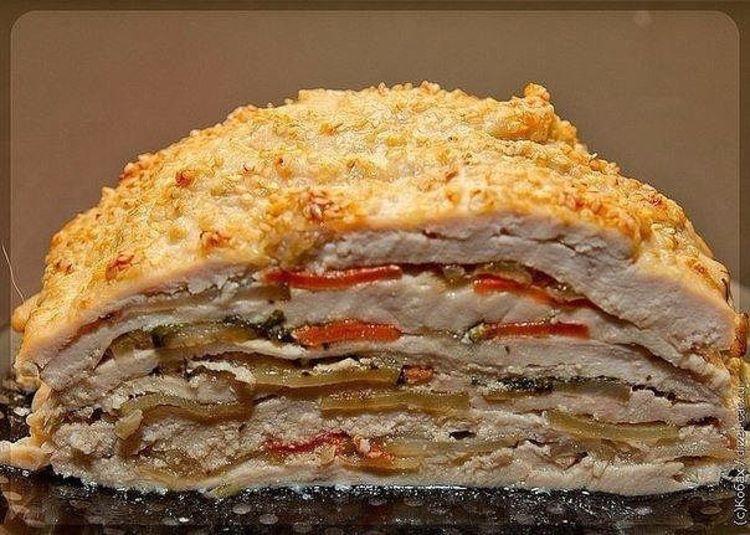 Вкуснейшее и оригинальнейшее блюдо — готовится из простых продуктов, а выглядит — как деликатес из шикарного ресторана.