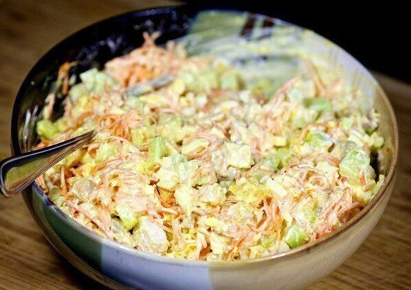 Морковный салатик съедят раньше шубы. Обалденный вкус!