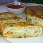 Необычный яичный ролл на завтрак или перекус за 10 минут