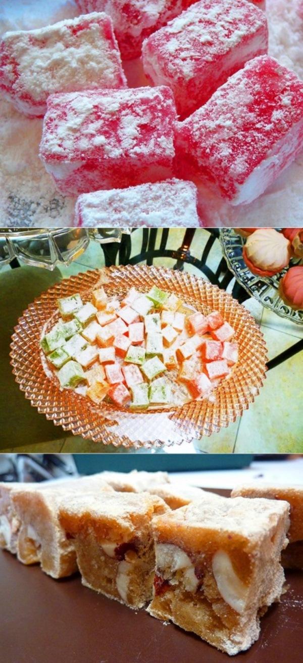 РАХАТ-ЛУКУМ - эти десерты отличаются воздушностью и буквально тают во рту, а потому придутся по вкусу самым привередливым сладкоежкам.