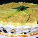 Салат, который займет главное место на праздничном столе. Салат-торт №1 в мире