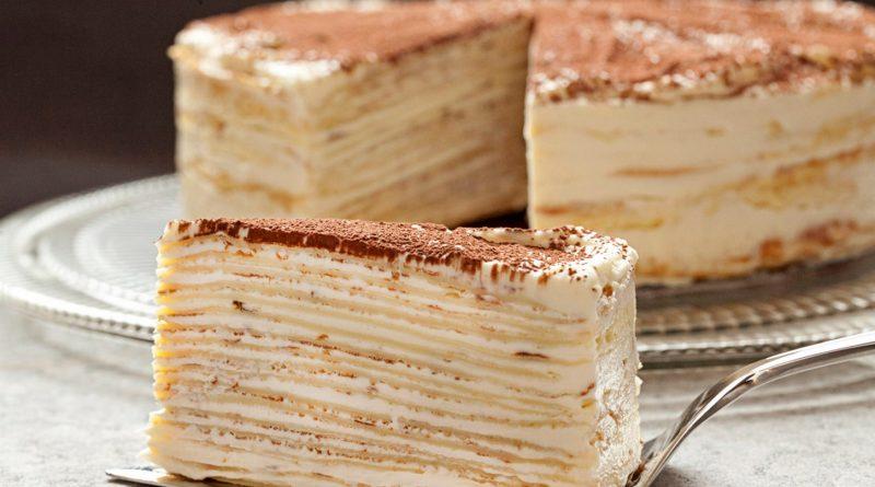 Торт «КРЕПВИЛЬ». Это самый вкусный тортик в мире!