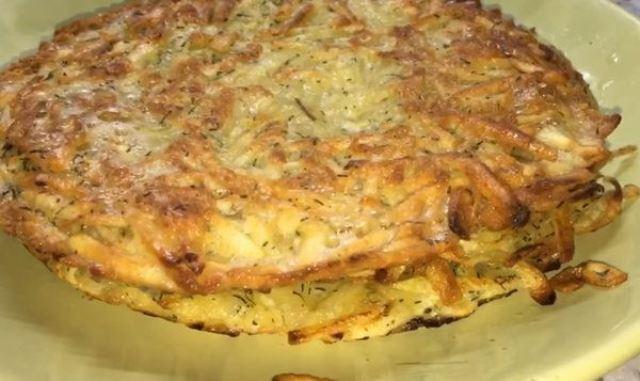 Простые и безумно вкусные картофельные лепешки за 10 минут
