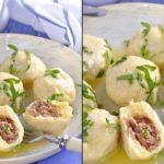 Картофельно-сырные ньокки, фаршированные мясом - моя палочка - выручалочка. Рецепт - находка.