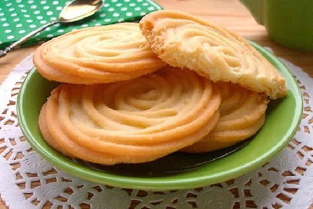 Печенье Тающие моменты. Название печенья, само говорит за себя — просто невероятно нежное и тающее во рту!