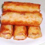"""Сосиски в картофельно-сырной """"шубке"""" и хрустящей корочке."""