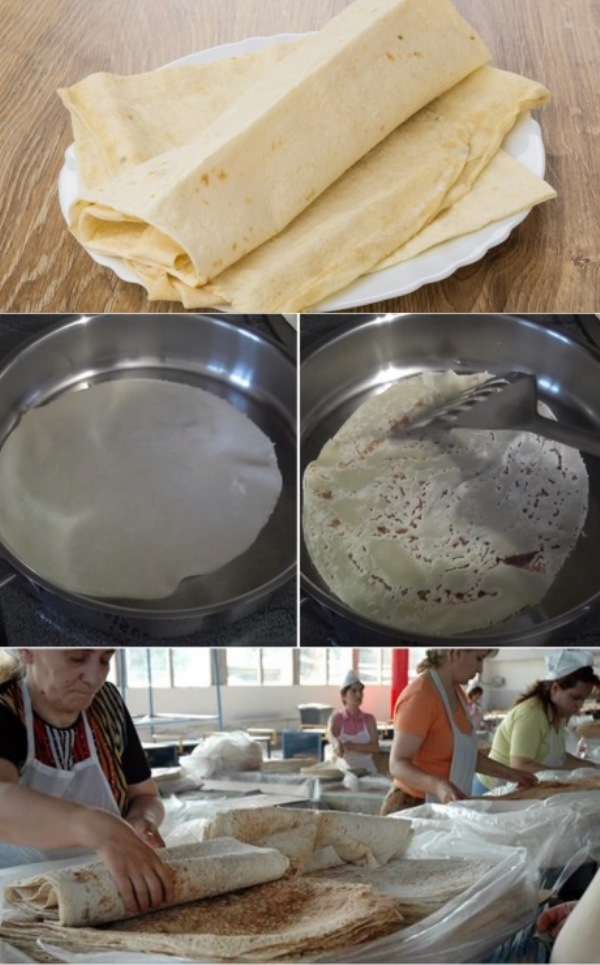 Армянская бабушка Нана научила готовить лаваш как с прилавка: без дрожжей и на сковороде