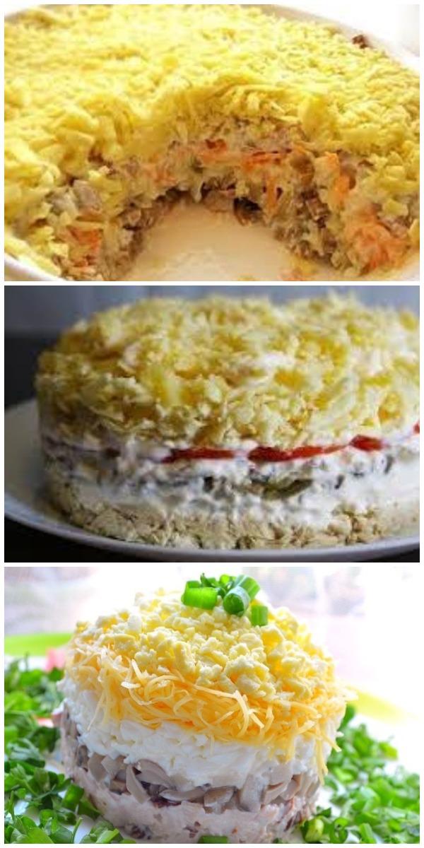 """Такой салат готовь хоть каждый день """"Белая ночь"""""""