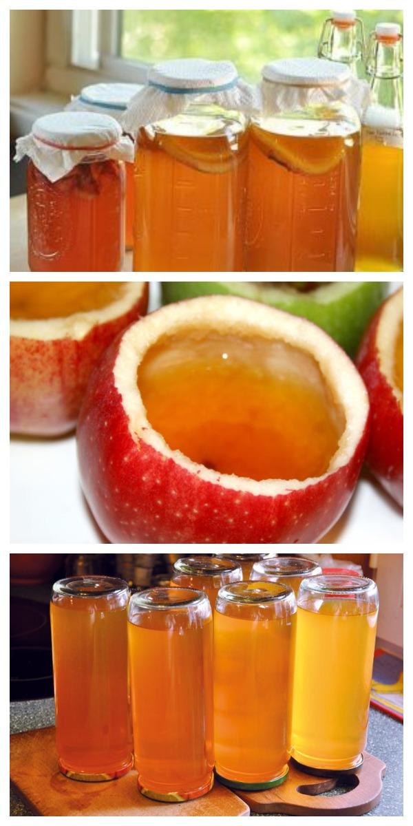 Лучший яблочный уксус — это уксус домашнего приготовления! А приготовить его, оказывается очень просто!