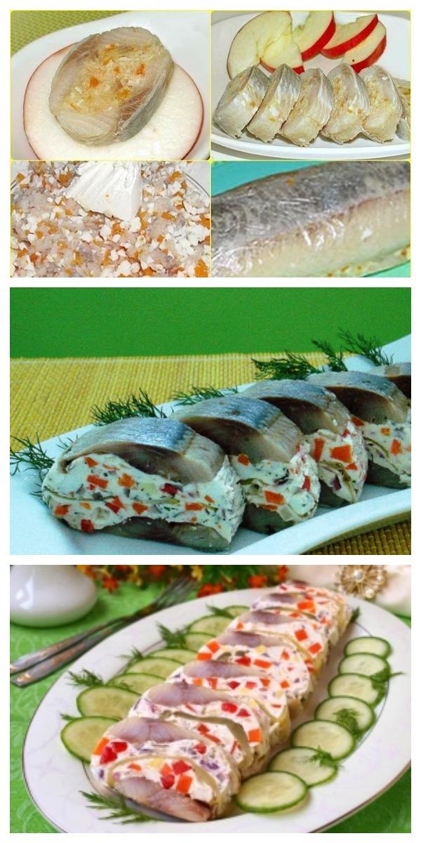 Фаршированная сельдь — сочно,смачно и очень вкусно!