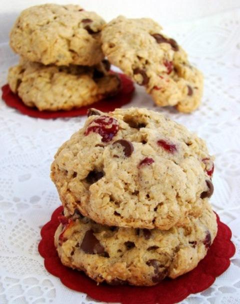 Овсяное печенье с вишней и шоколадом! В 100 РaЗ ЛУЧШЕ ПoКУПНoГo!