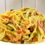 Вкуснейший салат без майонеза, гости будут просить добавки