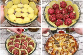 Обалденные фрикадельки в сотах под соусом бешамель - вкуснотище