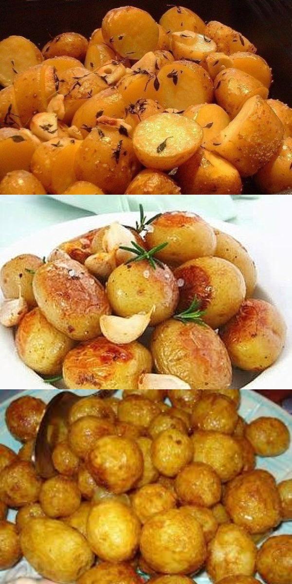 Картофель в пакете. Очень просто и очень вкусно!